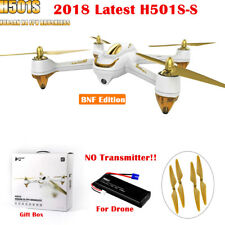 Hubsan X4 H501S Pro Brushless 1080P FPV RC Quadcopter Altitude Follow Me GPS BNF