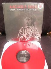 Augustus Pablo Greek Theater Berkeley, CA 1984 Vinyl Reggae Africa Must Be Free