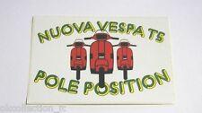 ADESIVO MOTO anni'80 /Old Sticker Autocollant Vintage VESPA PIAGGIO (cm 15x10) c
