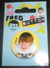FRED FIGGLEHORN yellow Angry Pin Button Hot Topic NWT