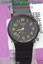 MQ-24-1B2 Casio Unisex Watch Black Plastic Water Resist Analog Brand-New
