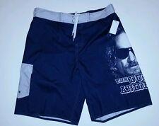"The Big Lebowski Swimming Shorts Trunks ""THE DUDE ABIDES"" NEW Sz XL"