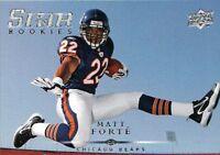 2008 Upper Deck Star RC - MATT FORTE #275 - Chicago Bears RC