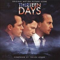 TREVOR JONES Thirteen Days Original SOUNDTRACK CD 2000  SCARCE! NEW AND SEALED!!