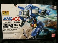 Gundam Age-1 Spallow 1/144 High Grade Model Kit Bandai Hobby #07 gift lot japan