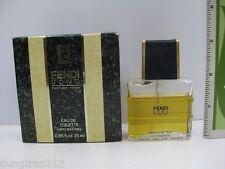 FENDI UOMO by FENDI 0.85 oz 25 ml EAU DE TOILETTE SPRAY MEN LOWFILL