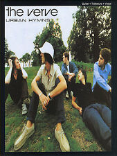 The Verve Urban Hymns Learn Play Bittersweet Symphony Pop Guitar TAB Music Book