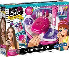Clementoni 15174 Crazy Chic Superstar Nail Art