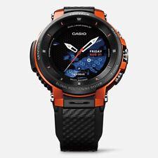 Casio Pro Trek Smart WSD F30 RG Orange G-shock Mens Watch Gear GPS EMS Fast Post