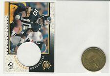 Pittsburgh Steelers Kordell Stewart 1997 Pinnacle Mint Die-Cut w/Brass Coin