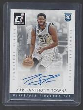 KARL ANTHONY TOWNS 2015-16 DONRUSS SIGNATURE SERIES SSP CASE HIT RARE AUTO RC
