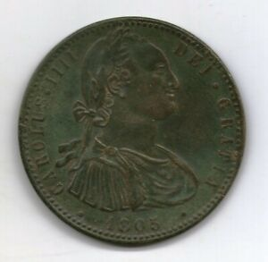 ARGENTINA MILITARY BRASS BUTTON as an 8 REALES COLONIAL COIN