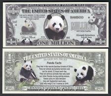 PANDA Million Note ~  Fantasy Note ~ Endangered animal and Facts ~ PANDAS