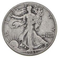 1943-D Walking Liberty 90% Silver US Half Dollar *168