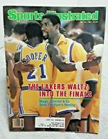 Sports Illustrated May 24 1982 Magic Johnson Los Angeles Lakers
