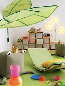 🖤 2 X IKEA LÖVA LOVA Green Leaf Children's Bed Canopy /Brand New 🖤