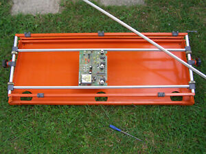 PCSS/3 LARGE PROFESSIONAL PCB PRINTED CIRCUIT ASSEMBLY and  PROTOTYPE JIG FRAME