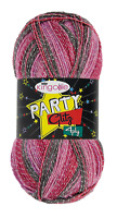 king Cole party glitz xmas 4ply yarn 1x 100g and  free pattern 4 variations