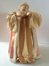 Vintage Silvestri Paper Mache Santa Claus Ornament