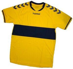 Hummel Jersey Trikot T-Shirt Shortsleeve Handball Soccer Football Sport yellow