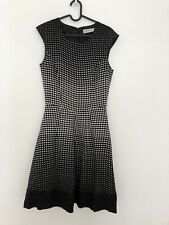 Peter Morrissey Dress Size 8 Black And White
