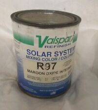 Valspar Refinish R97 Toner Maroon Oxide Automotive High Solids Quart