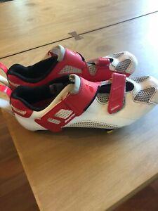 Women's Bontrager Woomera Triathlon Shoes Sz 40 Euro, 7 US. Used- very good