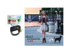 Dual Retractable Leash for Dog - Walk 2 dogs at the same time without tangling