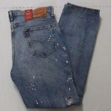 NWT Mens Levis 541 Athletic Fit Stretch Jeans 33x32 Paint Splatter MSRP $69.50