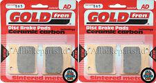 Suzuki GV 1400 Front Sintered Brake Pads 1987 Onwards - Goldfren - GV1400