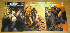 Charismagic: the Death Princess #1-3 VF/NM complete series - all A variants set
