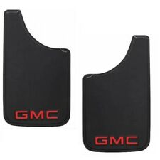 Coppia paraspruzzi universali gomma rubber mud flap splash guards GMC truck