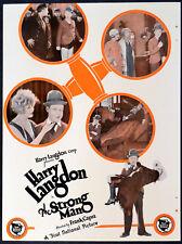 STRONG MAN 1926 Harry Langdon FRANK CAPRA TRADE ADVERT