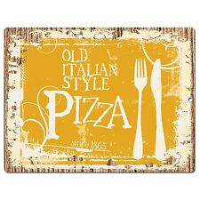 PP0940 PIZZA Parking Plate Chic Sign Home Restaurant Kitchen Decor Gift