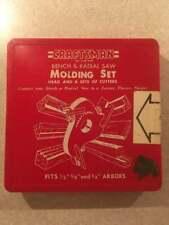 CRAFTSMAN Molding Set 9-3200 w/ 6 Cutter Sets