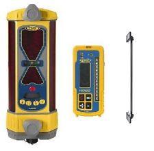 Spectra LR50W Machine Control Laser Receiver RECHARGE Batt. w/ MAGNETIC MOUNT