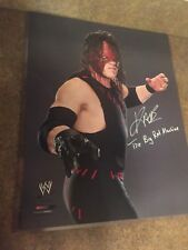 "Kane ""The Big Red Machine"" AUTOGRAPHED SIGNED 16x20 Photo WWE WWF"