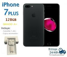 IPHONE 7 Plus 128GB Black Reconditioned Free / Grade A Box And Accessories