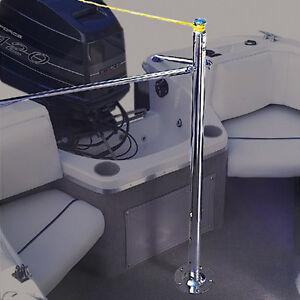Jobe Stainless Steel Ski Wakeboard Height Adjustable Boat Water Ski Towing Pylon