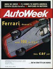 AutoWeek Magazine June 20, 1994 Ferrari, BWM M3, Toyota Celica AutoFile