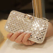 Bling Diamond Wallet Flip Case Cover For Samsung S20 S10 S9 S8 Plus A51 A71