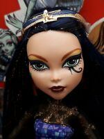 Monster High Doll, Cleo De Nile, Boo York Comet Crossed Couple, Great Cond. (a)