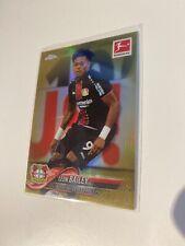 Topps Chrome 18/19 Leon Bailey Gold /50 Leverkusen