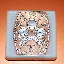 Original Franck Muller Dial, Perpetual Calendar,Day-Date-Month-Moon Phase,Salmon