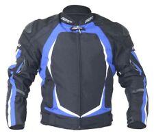 Blousons bleu avec doublure taille pour motocyclette