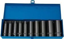 Draper 38369 10 pièces 1.3cm Carré Clé expert hi-torq métrique Ensemble de