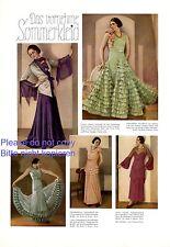 The elegant summer dress 1 page photo images 1931 30s fashion Arus Schreyer +