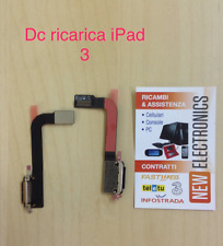 MODULO DOCK RICARICA CONNETTORE CARICA PER IPAD 3 FLAT FLEX CHARGING A1430 A1416