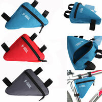 Waterproof Triangle Cycling Bicycle Front Tube Frame Pouch Bag Holder Saddle New