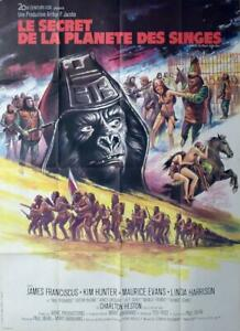BENEATH THE PLANET OF THE APES - ORIGINAL LARGE FRENCH MOVIE POSTER